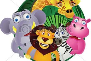 animal group clipart 4