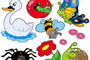 animals that fly clipart 5