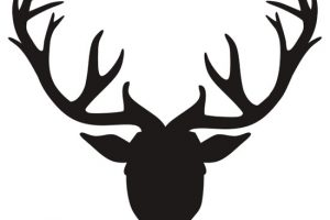 antlers clipart 1
