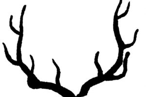antlers clipart 5
