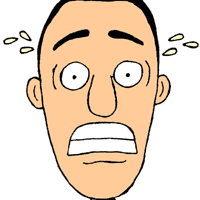 anxiety clipart