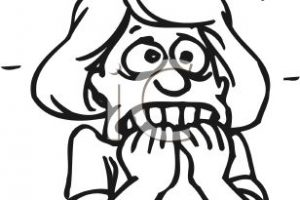 anxiety clipart 3