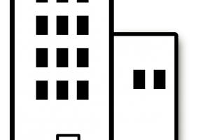 apartment clipart black and white 1