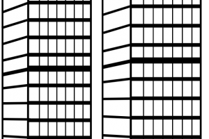 apartment clipart black and white 2