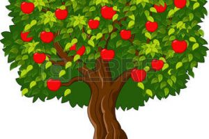 apple tree clipart 1