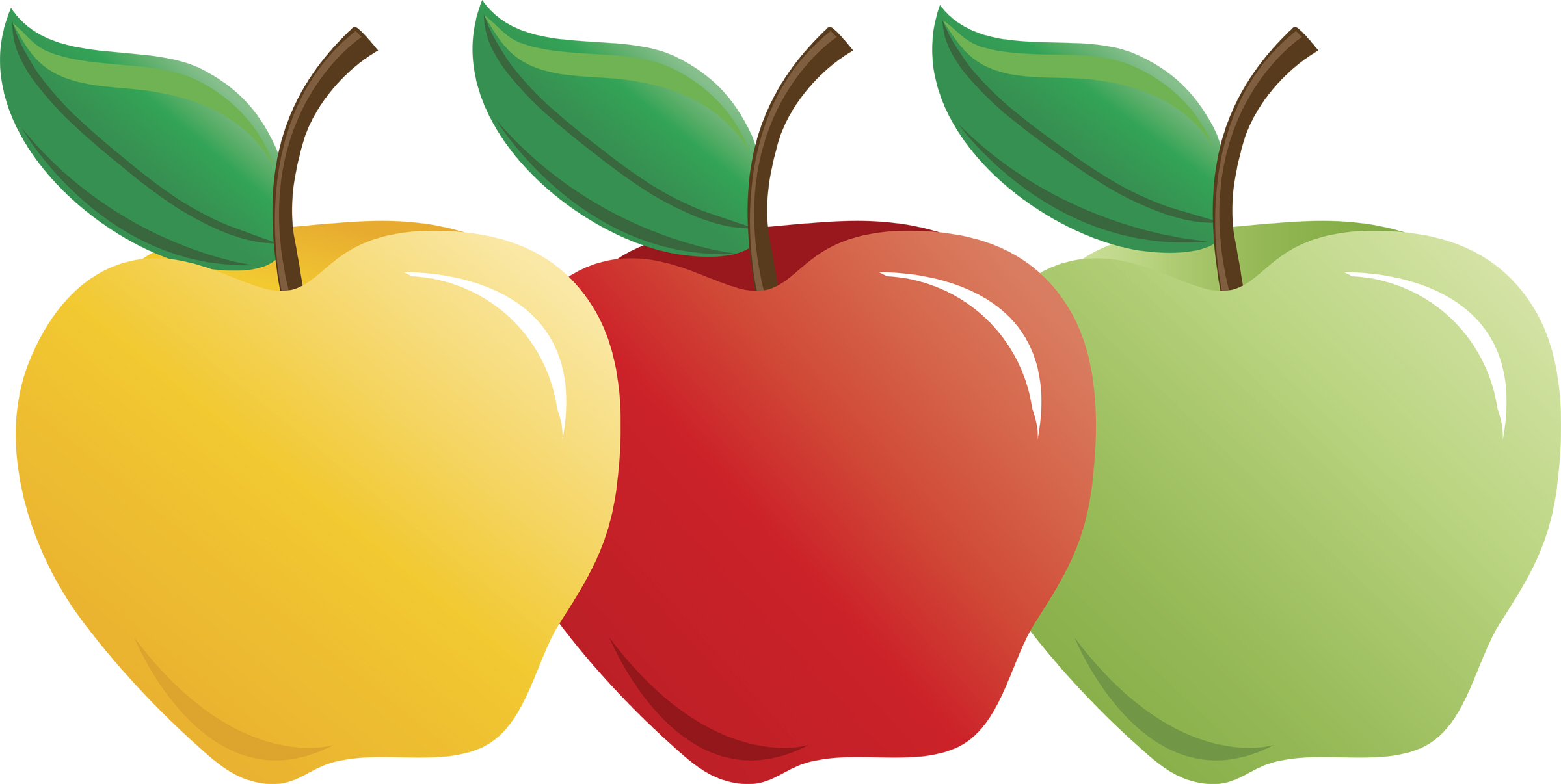 Apples clipart 3 » Clipart Station