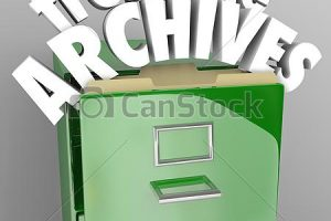archives clipart 8