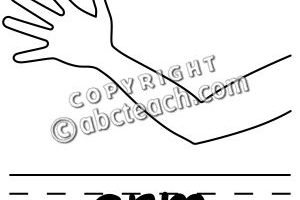 arm clipart black and white 3