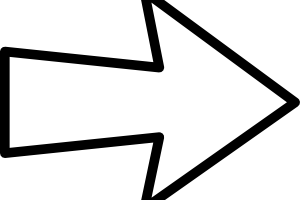 arrow clipart black and white 3