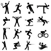 athletic clipart