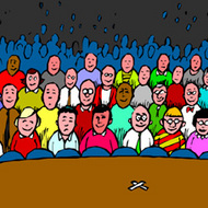 audience clipart