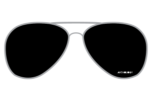 aviator sunglasses clipart