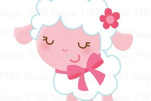 baby sheep clipart 3