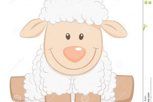baby sheep clipart 6