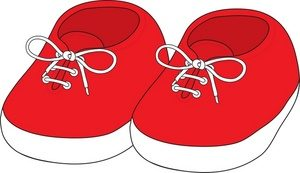 baby shoes clipart 12