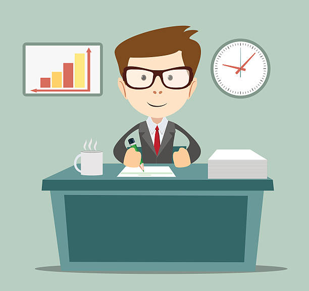bank manager clipart 2 clipart station
