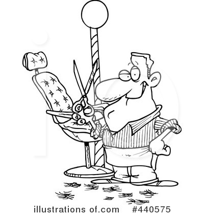 Barber Clipart Black And White 3