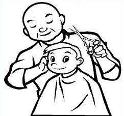 Barber Clipart Black And White 9