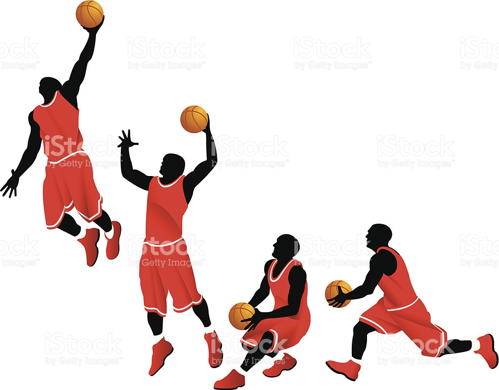 Basketball player dunking clipart 9 » Clipart Station