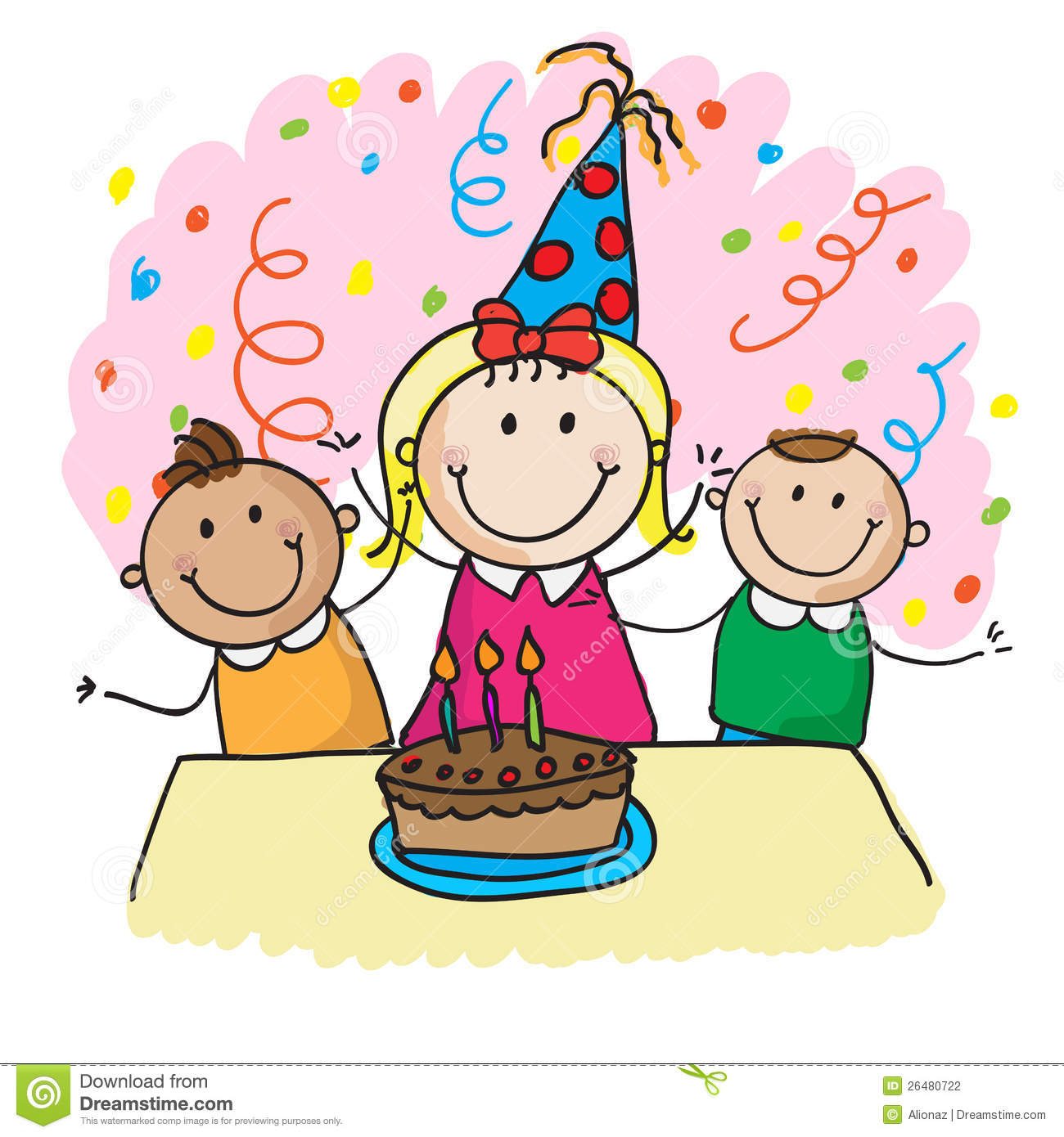 Birthday Party Clipart 1