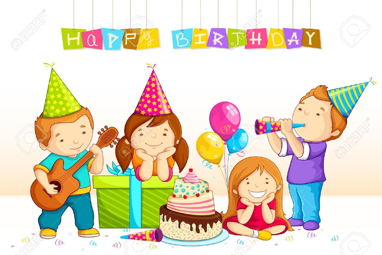 Birthday Party Clipart 6 Clipart Station