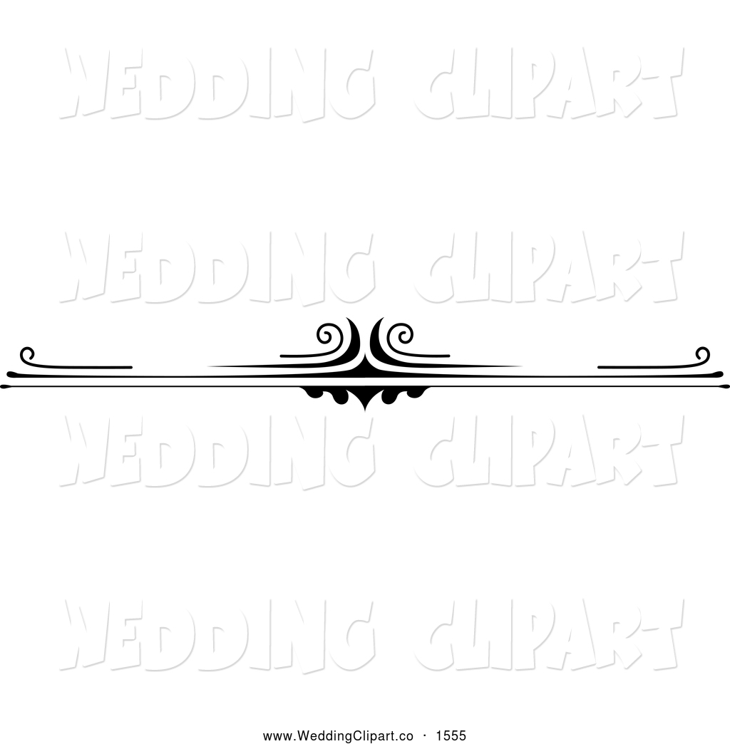 Black And White Wedding Border. Black And White Wedding Border Clipart ...