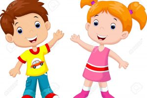 boy and girl clipart 6