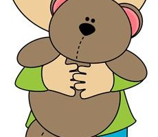 boy holding clipart 4
