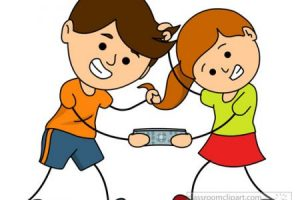 brother and sister clipart 1