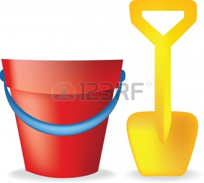 bucket and spade clipart 2 clipart station rh clipartstation com space clip art black and white space clipart