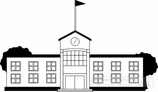 black white school building clipart clipart station rh clipartstation com building clip art free downloads building clip art free download