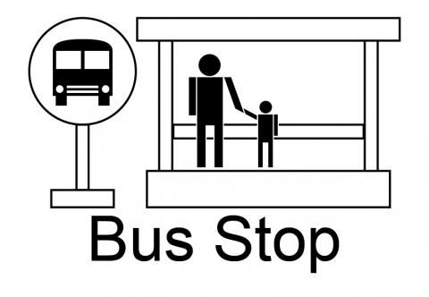 bus stop clipart 2 clipart station rh clipartstation com school bus stop sign clip art bus stop clipart