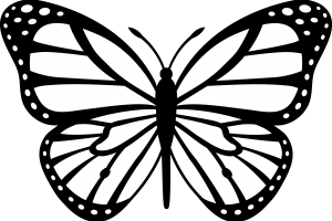 butterfly clipart 6