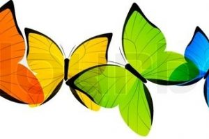 butterfly clipart border 3