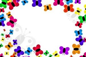 butterfly clipart border 8