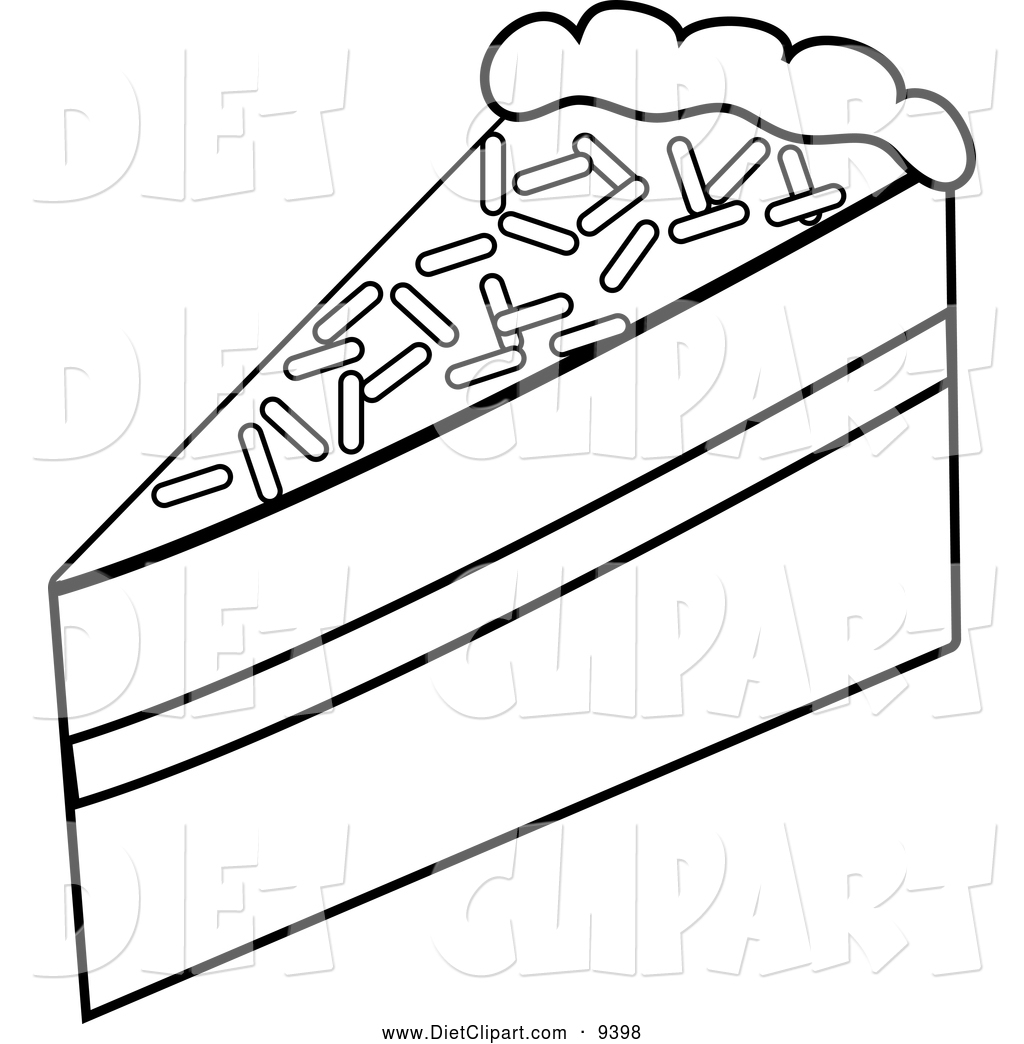 Slice of Cake Designed by StefStuff | BrandCrowd  |Cake Slice Clipart Black And White