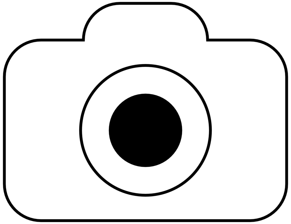 Camera clipart black and white png 9 » Clipart Station
