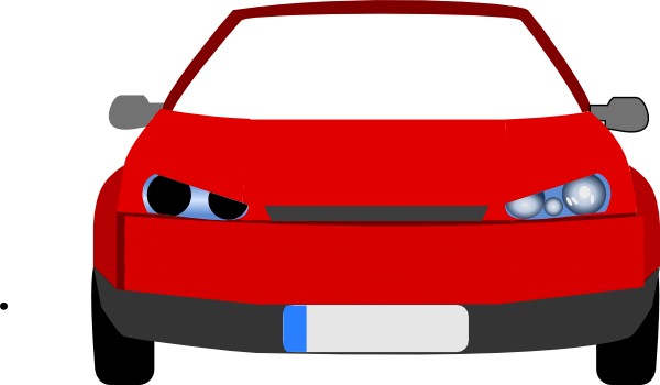 Car Front View Clipart 1