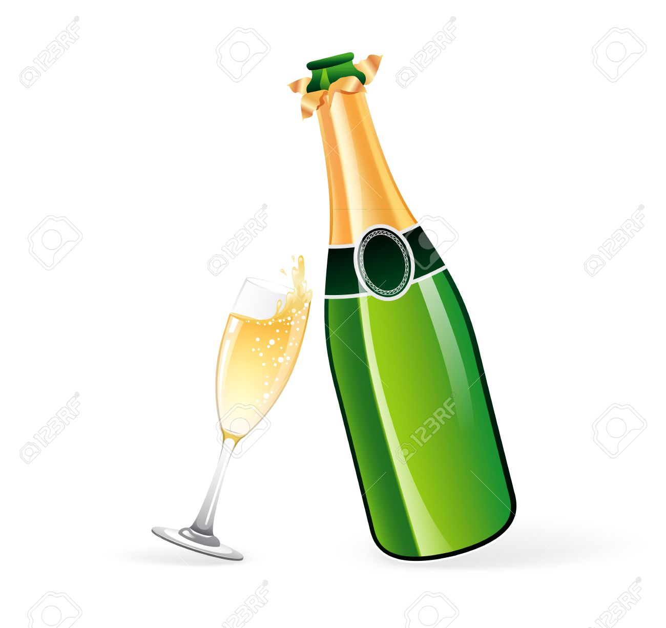 champagne bottle and glasses clipart clipart station rh clipartstation com champagne clip art black and white image clipart champagne