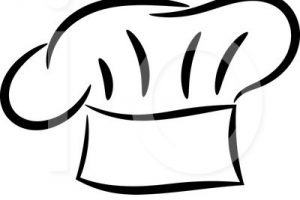 Chef Cap Clipart likewise Chef Hat Black And White Clipart additionally  on stock ilration chef hat with spoon and