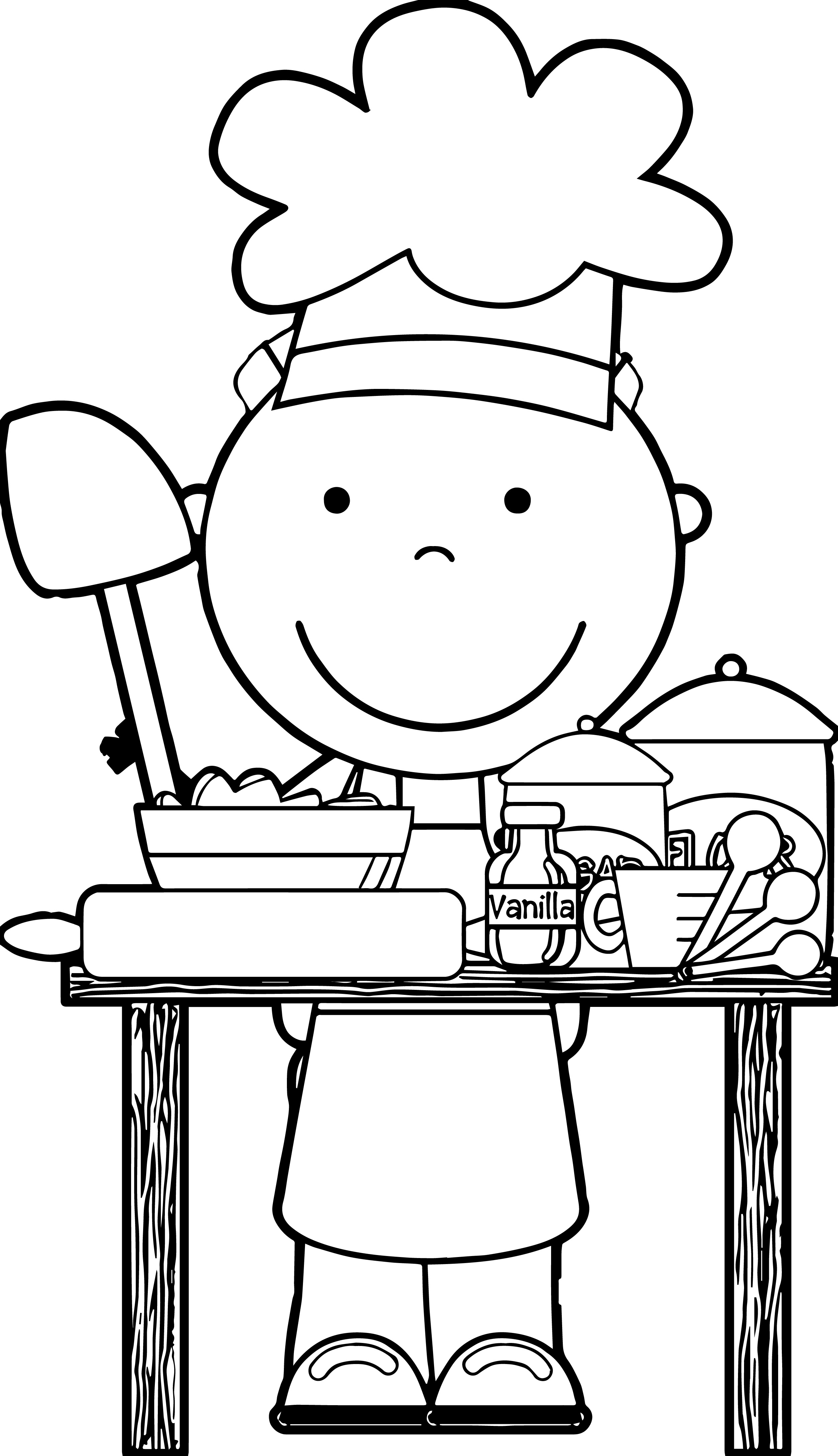 Cute Baby Girl Coloring Pages