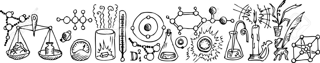 Chemistry clipart black and white 4 » Clipart Station