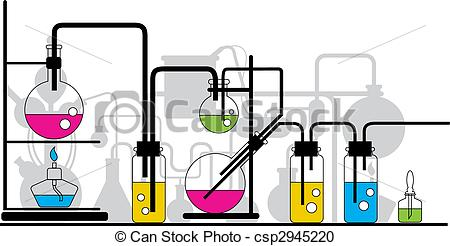 Chemistry Lab Equipment Clipart 12