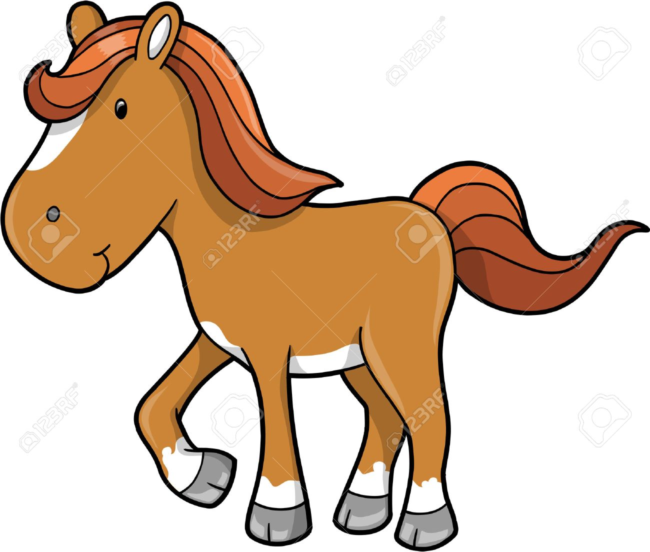 Cheval clipart 8 clipart station - Clipart cheval ...