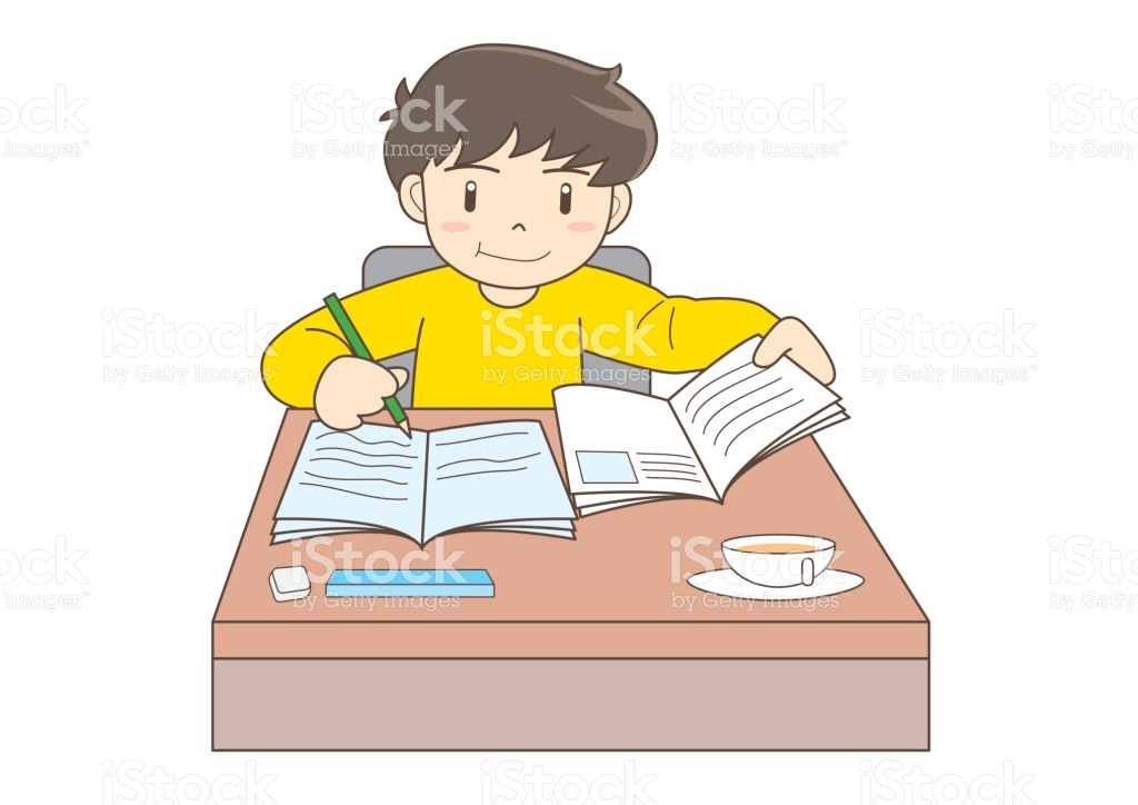 Child studying clipart 6 » Clipart Station