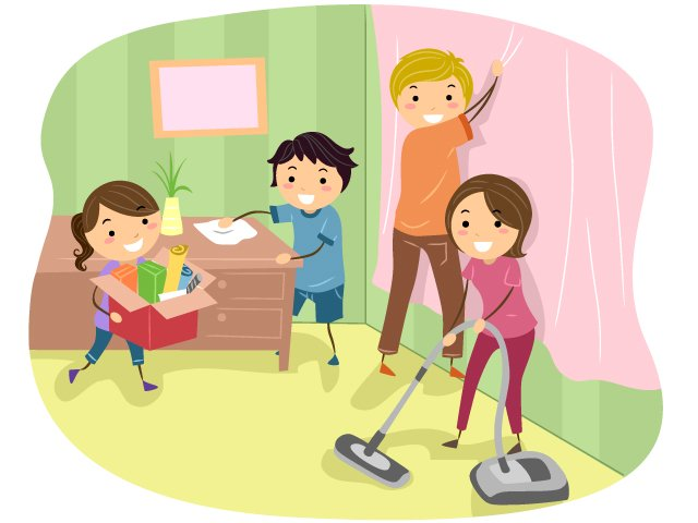 Children cleaning classroom clipart 5 » Clipart Station