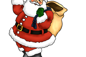 christmas father clipart 2