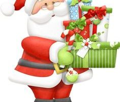christmas father clipart 5