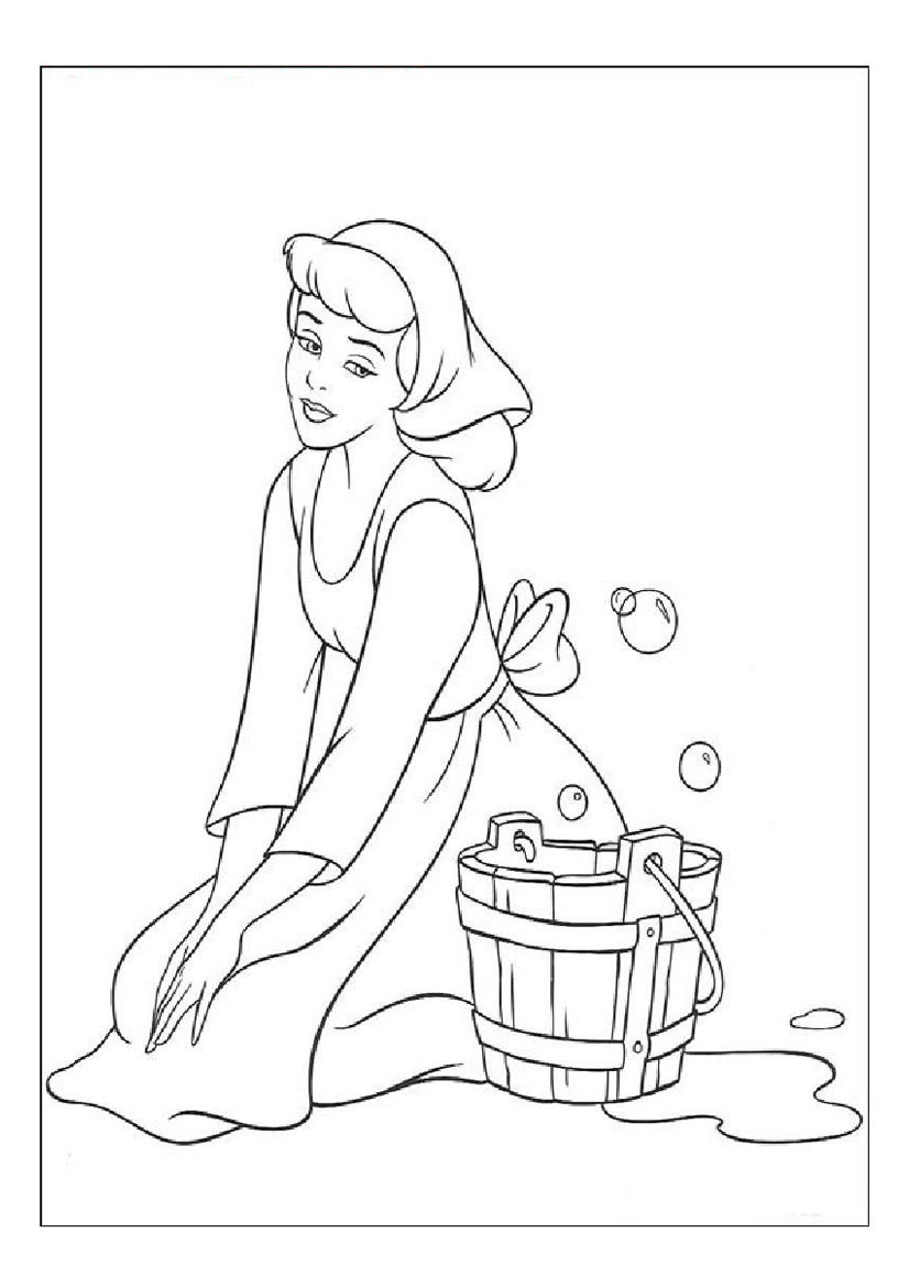 Cinderella Clipart Black And White 3 187 Clipart Station