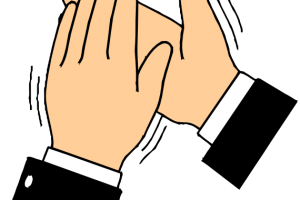 clapping hands clipart 3